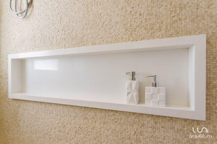 Projeto Luni Arquitetura Contato para projetos: projetos@luniarquitetura.com.br (11) 4106-7656  #arquitetura #bathroom #bath #architecture