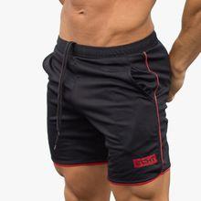 Verano para hombre pantalones cortos de Media moda Casual Joggers gimnasios Crossfit entrenamiento de Culturismo Aptitud cortocircuito de la Marca de pantalones de Chándal(China (Mainland))