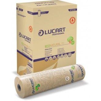 orvosi papírlepedő eco natural lucart antibakteriális 2 rétegű 70m 60cm