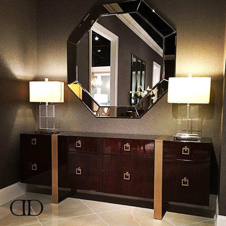 A Statement of Modernity: Dorya's brand-new B.1058 Sideboard debuting at this #hpmkt #hpmkt2016 #Dorya #DoryaInteriors #Trend #Trending #Luxury #LuxuryFurniture #Sideboard #Fashion #Style