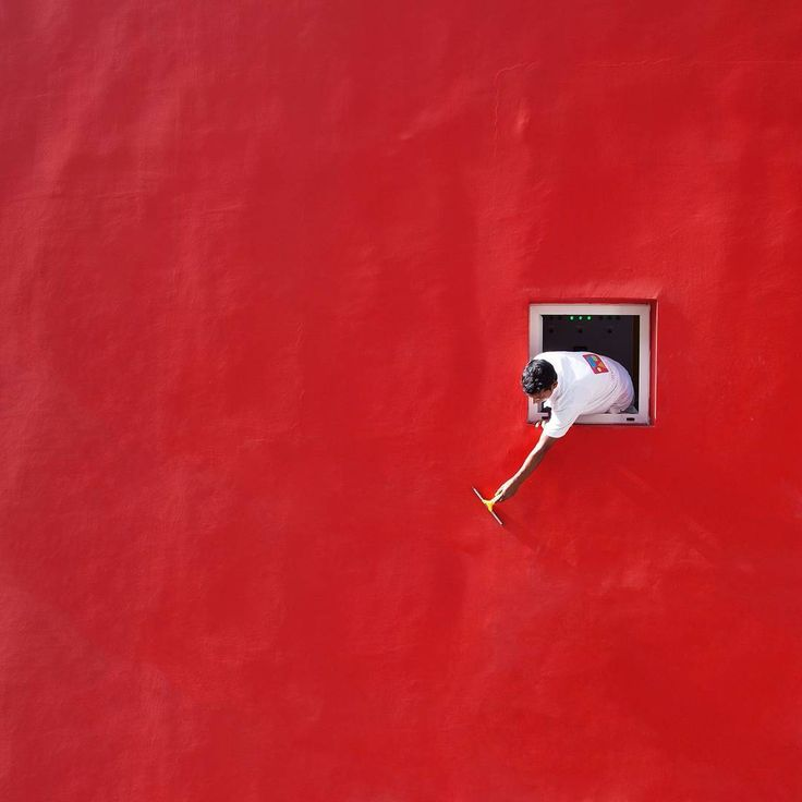 'Red Swipe' by photographer Serge Najjar (@serjios) for this week's  #takeover on iGNANT.