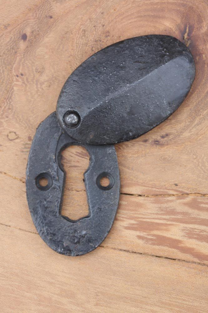 Buy Oval Iron Escutcheon With Cover   Our Range Of Escutcheons Or Key Hole  Covers Includes Iron Escutcheons, Pewter And Wood Escutcheons, Porcelain  And ...