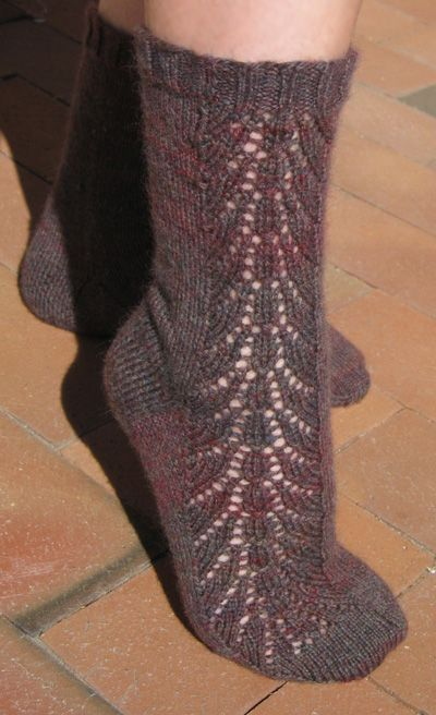 Blackrose lace socks