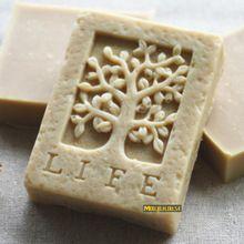 Древо жизни квадратной формы мыло силикон форма деревья формы смолаы свечи виде формы из торт полимерная глина для приготовления пищи поставки(China (Mainland))