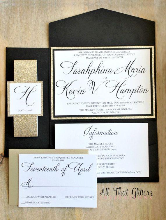 best 25+ pocketfold wedding invitations ideas on pinterest, Wedding invitations