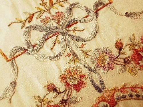 Французский пяльцы - Великобритания и Франция старинных | розами и ангела античного | Eglantyne (Egurantinu)