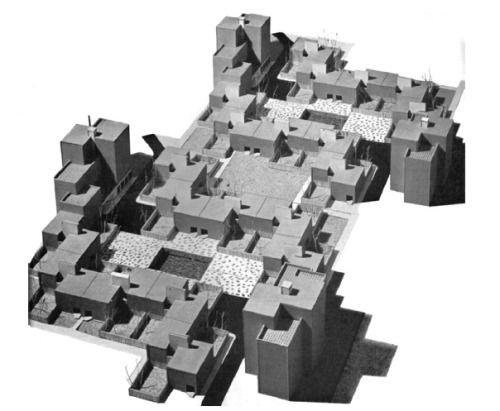 "loveyousomat: ""Piet Blom, Housing Project, 1959 """