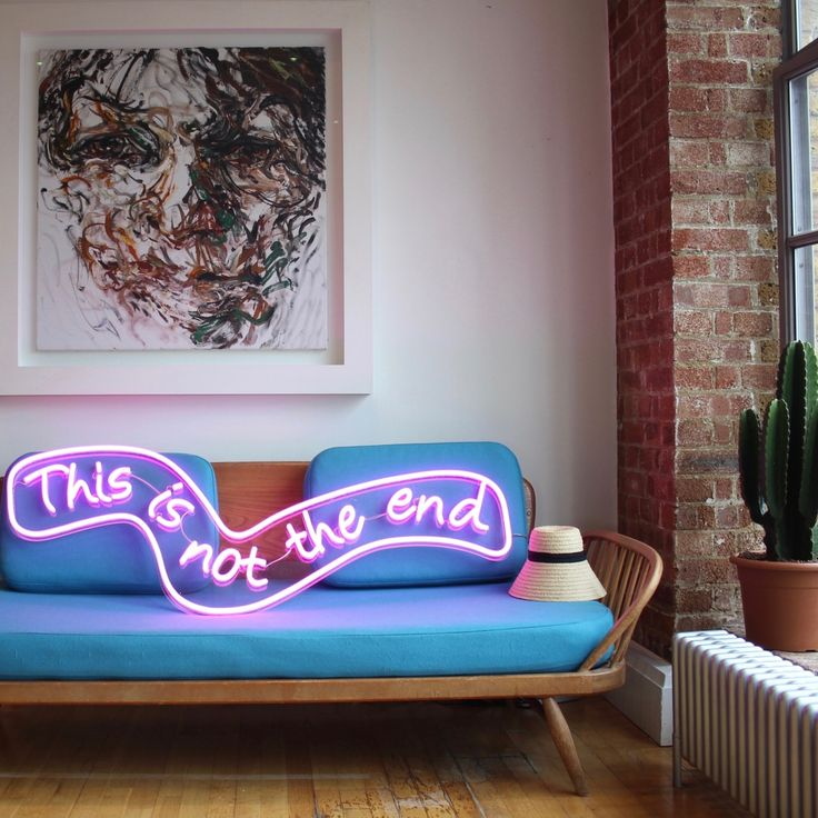 The Party Light - Neon Sign Inspired by all the girls and boys who never want the party to end. And now it never has to.  With its sultry curves and whimsical text, the Party...