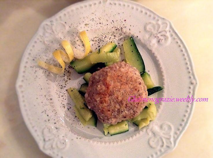 Canederli al salmone e ginger. Senza glutine Bilanciati e a basso Carico glicemico