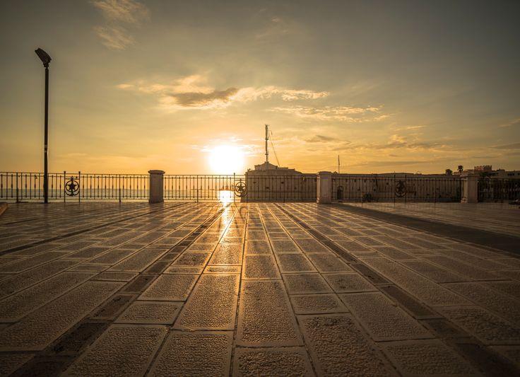 Un tramonto a Taranto by Francesco Orlando  on 500px