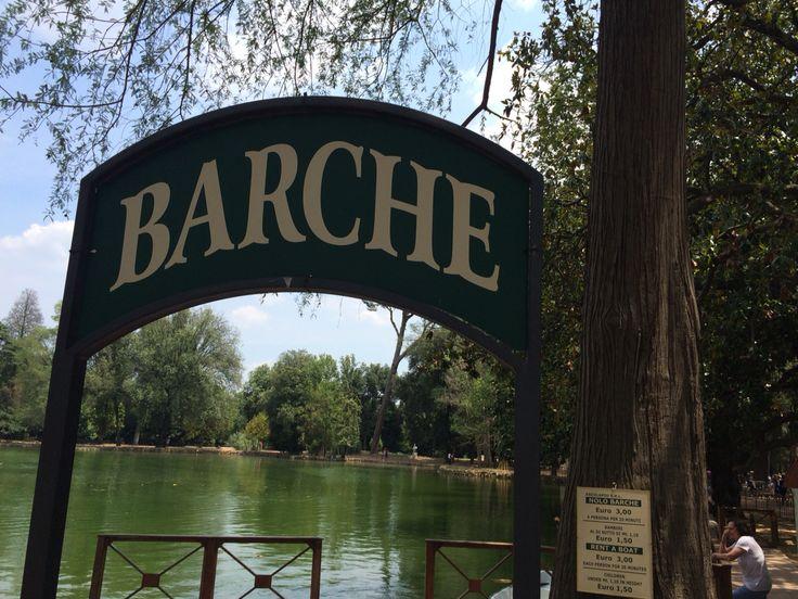 Barche_ villa borghese_Roma 2015
