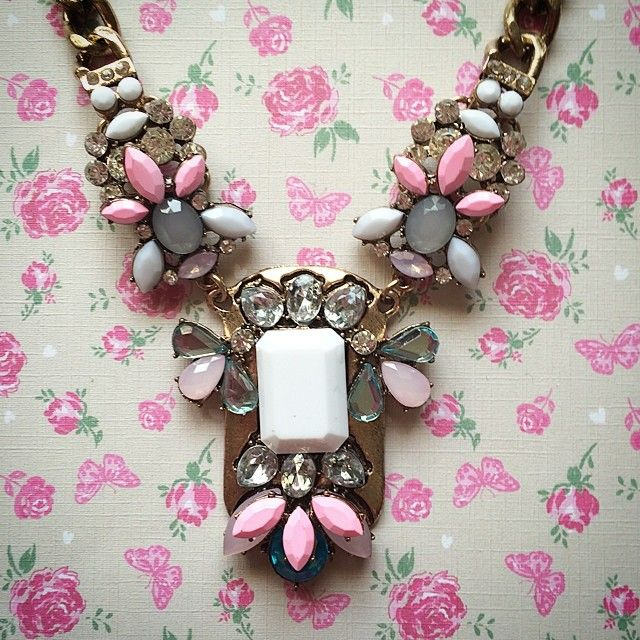 The Neopolitan Necklace.. One of our favourite new arrivals and a total Summer staple #statementnecklace #jewellery