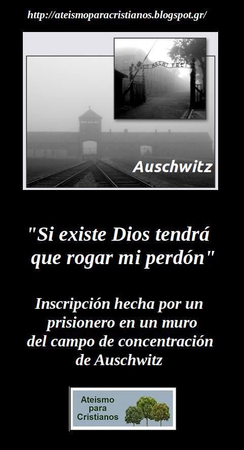 Ateismo para Cristianos.: Frases Célebres Ateas. Prisionero Anónimo en…