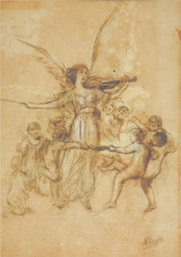 Draft of Arts and Spirits - Nikolaos Gyzis