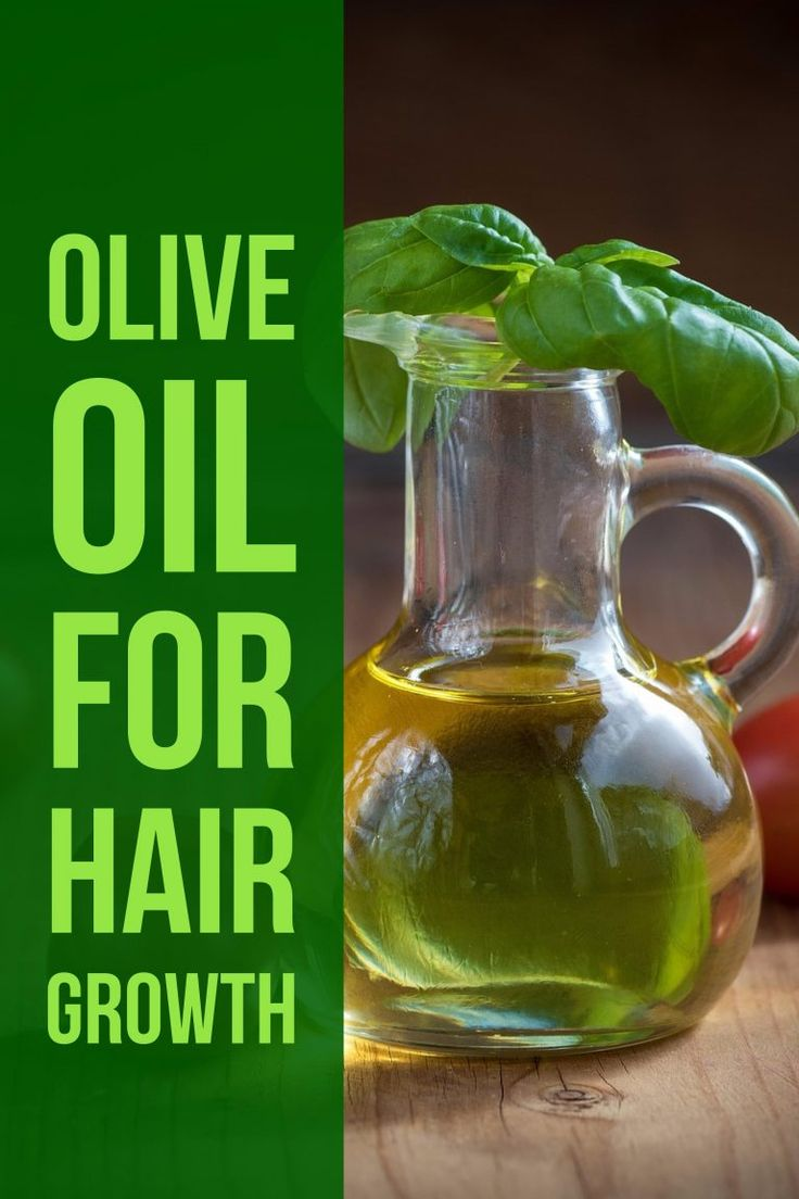Olive Oil used for Hair Growth
