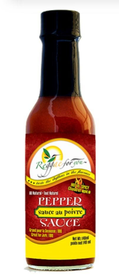 """Pepper Sauce Add to your dishes for that """"kick"""" and spicy taste to your foods"""