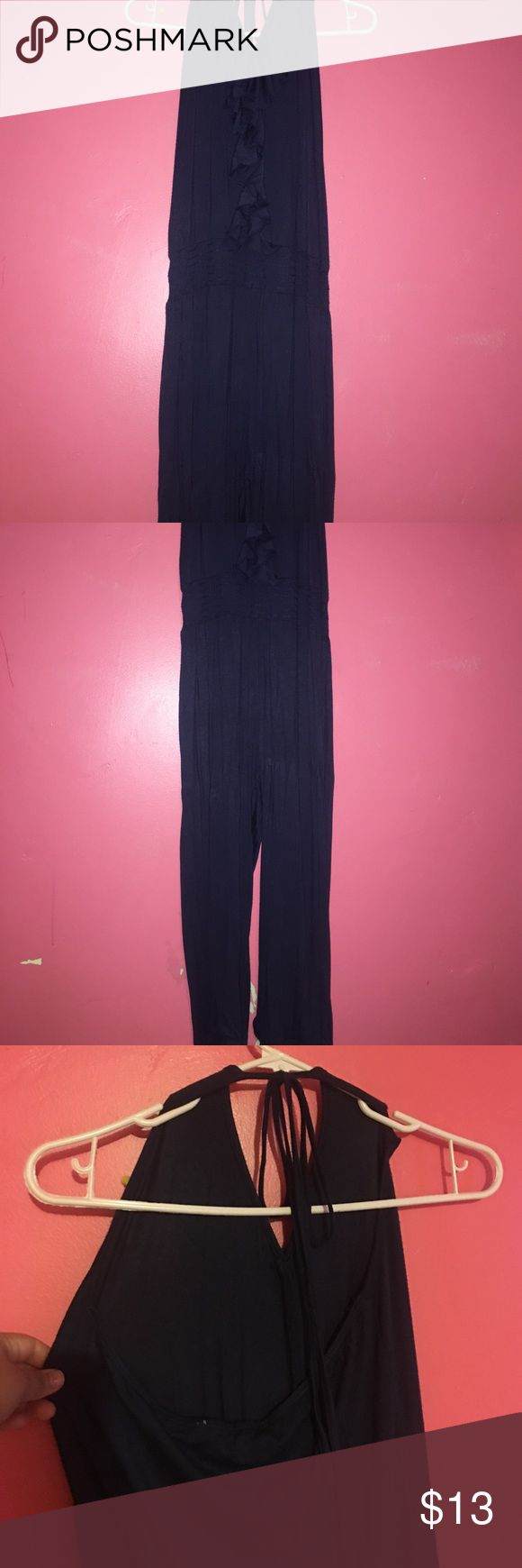 Blue jumpsuit from love culture NWOT blue jumpsuit from love culture 💝💝 Love Culture Pants Jumpsuits & Rompers