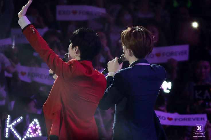 140920 EXO The Lost Planet in Beijing Day 1 - Sehun & Luhan #hunhan #BeWithLuhan #alwayssupportluhan
