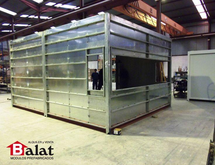 17 mejores ideas sobre casetas prefabricadas en pinterest construccion de casas prefabricadas - Balat modulos prefabricados ...