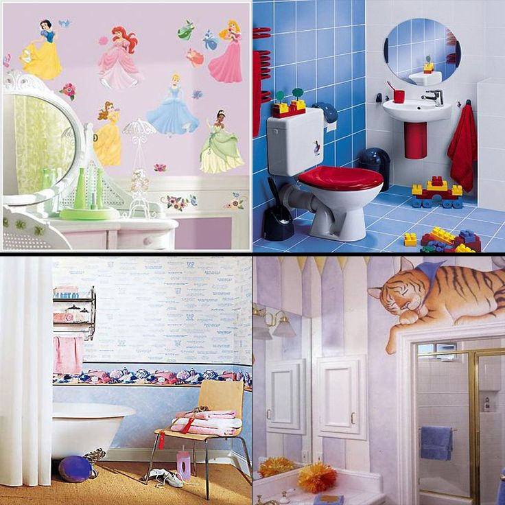 adorable kids bathroom ideas to brighten up your home - Bathroom Decorating Ideas For Kids
