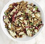 Quinoa and Avocado Salad with Dried Fruit, Toasted Almonds, and Lemon ...