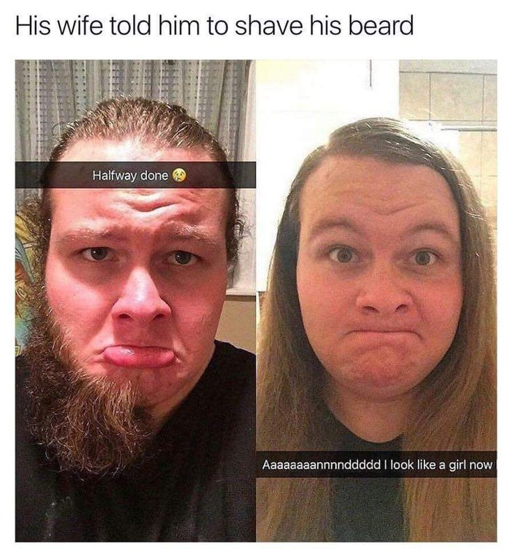 Some people should keep their beards