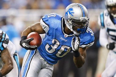 i love a good comeback story... this guy was sitting on his couch a few weeks ago when the Lions called him up to see if he could come in for a workout... today he scored 3 touchdowns and ran for 140 yds and caught for over 60 yds!