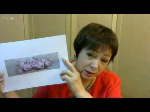 """Ф.Батдалова. """"Розовые розы на женских шкатулках"""" - YouTube"""