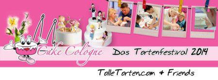 Cake Cologne - Das Tortenfestival 2014 by TolleTorten.com + Friends ! Mit ganz neuem Konzept am 28. und 29. März 2014