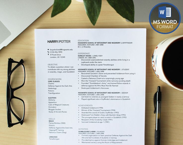 This simple and downloadable resume template is compatible with Microsoft Word for easy editing on both PC and Mac. With this modern yet professional resume template, increase your chances of catching the eyes of employers. This resume format is a modern and unique one-page layout, featuring two columns in a clean grid style. Whether you are a receptionist, teacher, teenager, university or college student, academic, or accountant, this is the perfect resume for your creative needs!  Once you ...