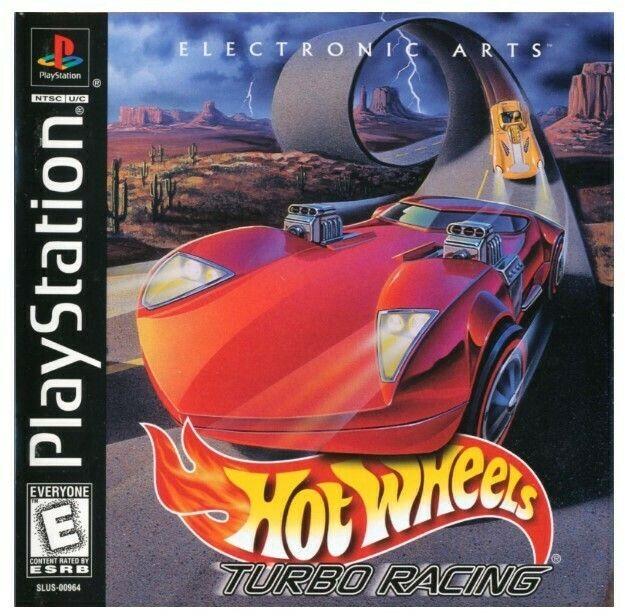 Playstation 1 Hot Wheels Turbo Racing Sony Slus 00964 Video Game September 1999 Playstation Games Playstation Hot Wheels