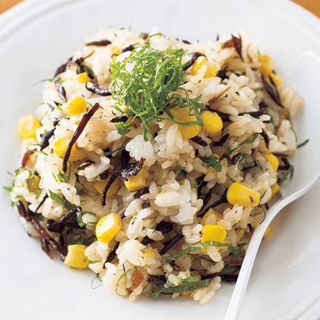 ひじきとしその混ぜご飯 | 山脇りこさんの混ぜご飯の料理レシピ | プロの簡単料理レシピはレタスクラブネット