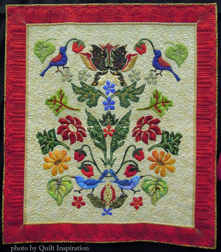 176 best William Morris Quilts images on Pinterest   Appliqué ... : william morris quilt patterns - Adamdwight.com