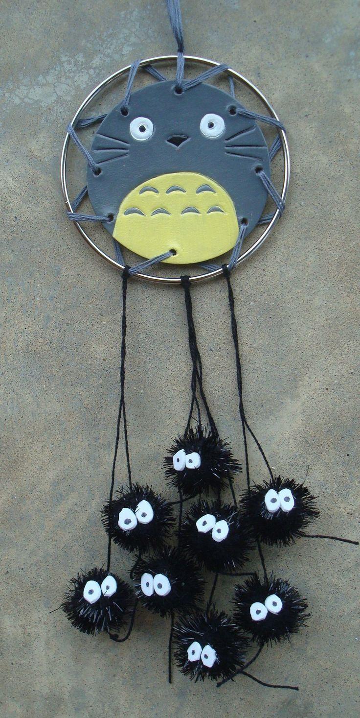Totoro and Soot Sprites Dream Catcher | Studio Ghibli | Know Your Meme