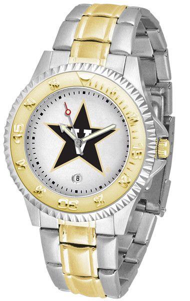 Mens Vanderbilt Commodores - Competitor Two Tone Watch