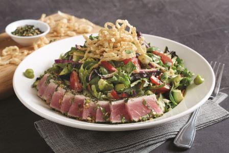 BJ's seared ahi salad
