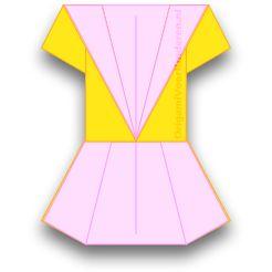 Origami Jurk 2