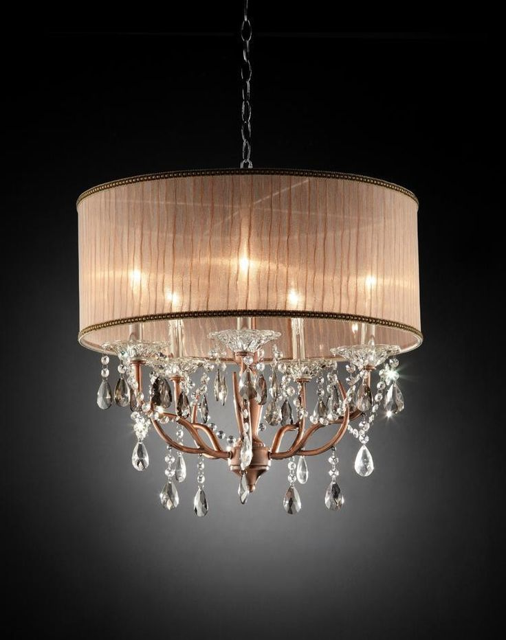 Ok Lighting ROSIE CRYSTAL CEILING LAMP OK 5126H
