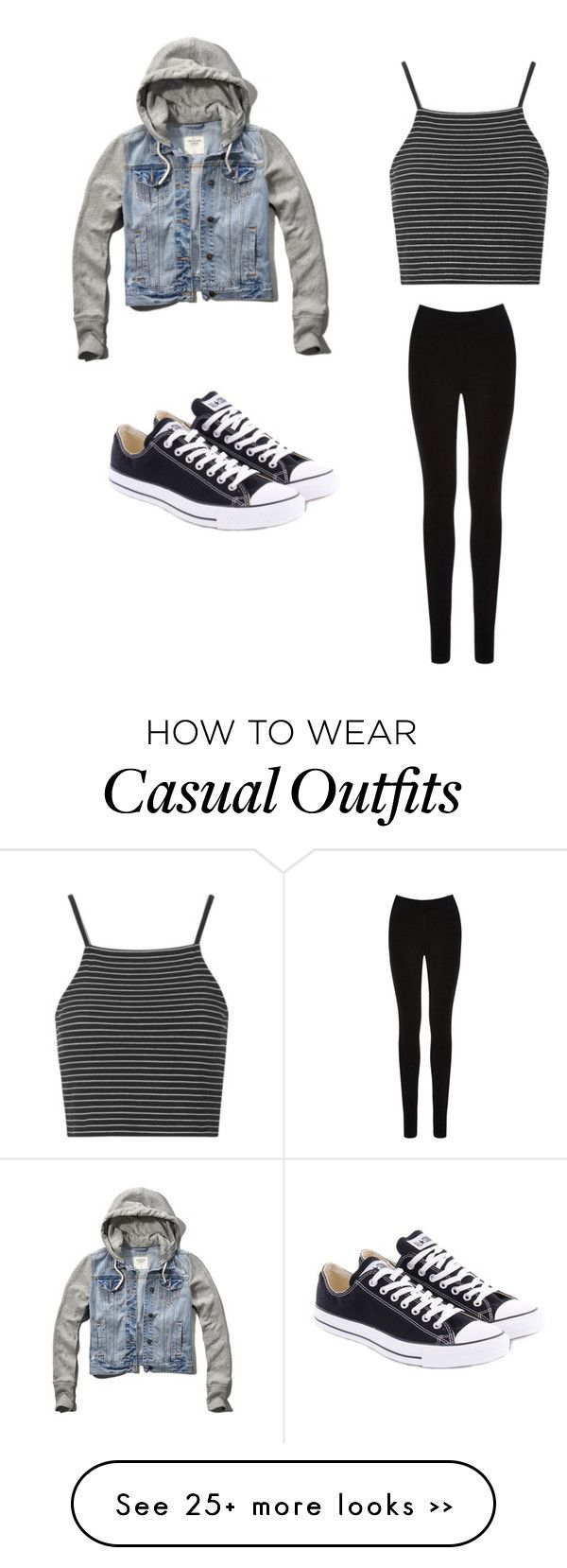 """""""Casual"""" by aprilrose0 on Polyvore"""