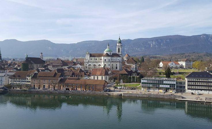 Der #Frühling lockt auch in #Solothurn  perfekt für einen #Kurztrip an die #Aare  #hhotels #reisen #travelstagram #travel #hotel #schweiz #einfachmalraus