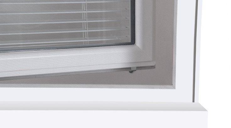Zanzariera a strappo per finestra Grigio Zanzariera