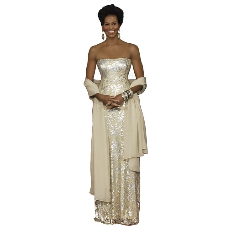 michelle obama collector doll | Michelle Obama: First Lady of Fashion Figurine Collection - First ...