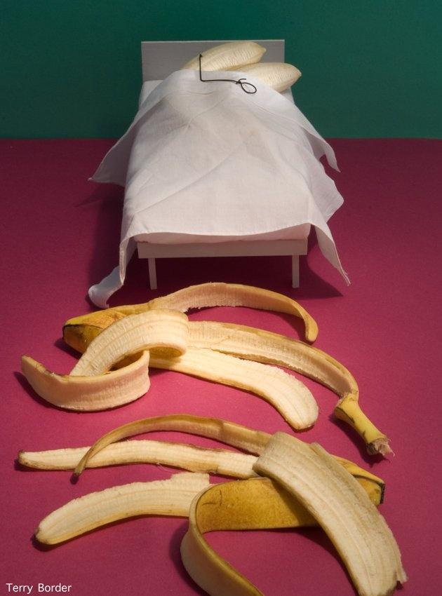 Bananas en la cama