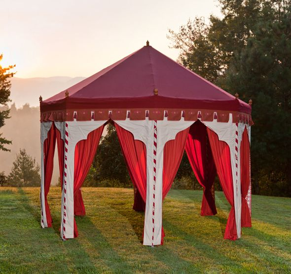 gypsy tent for the patio i want one