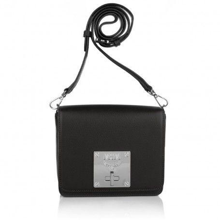 MCM Tasche – Mona Small Shoulder Bag Black – in schwarz – Umhängetasche für Damen