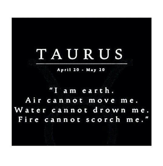 Taurus - Element