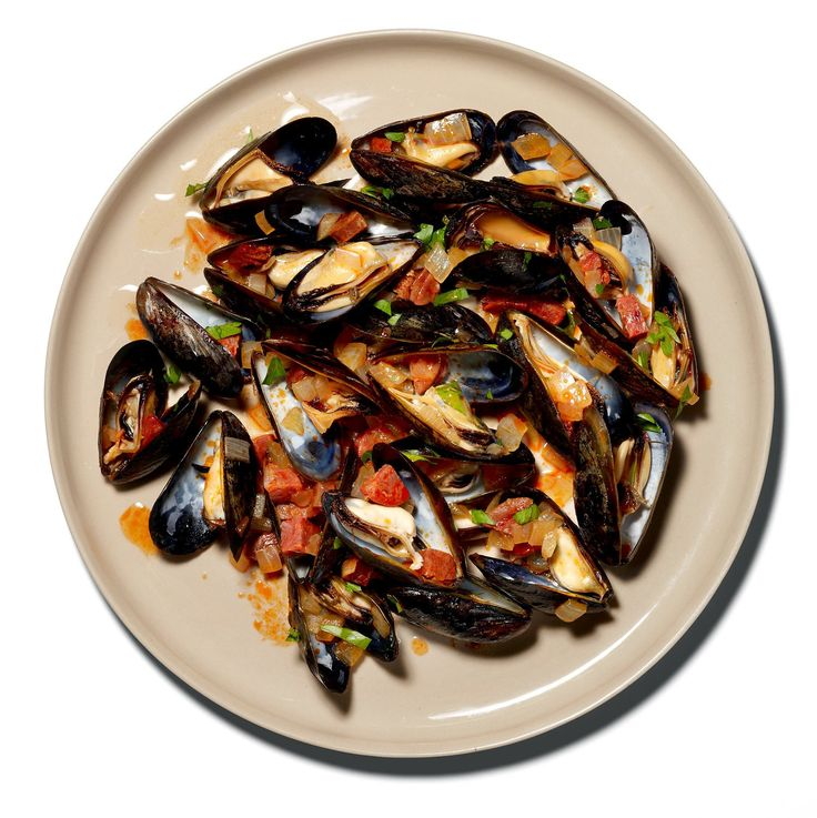 Mussels With Chorizo Recipe - NYT Cooking