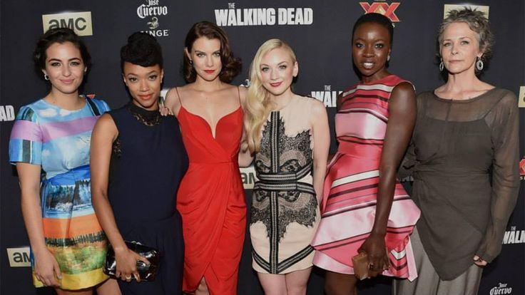 thw walking dead women :)