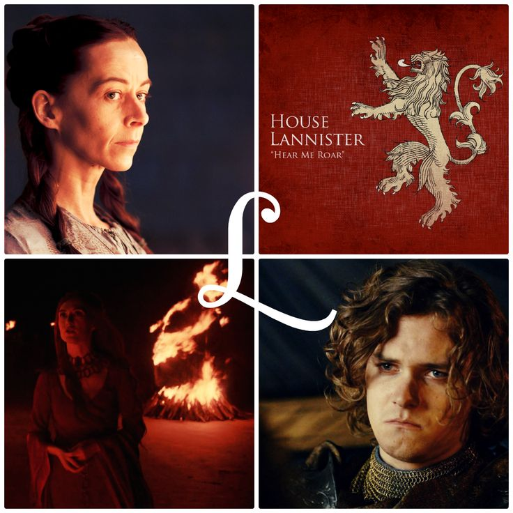 L is for … … Lysa Arryn, House Lannister, Loras Tyrell, and the Lord of Light