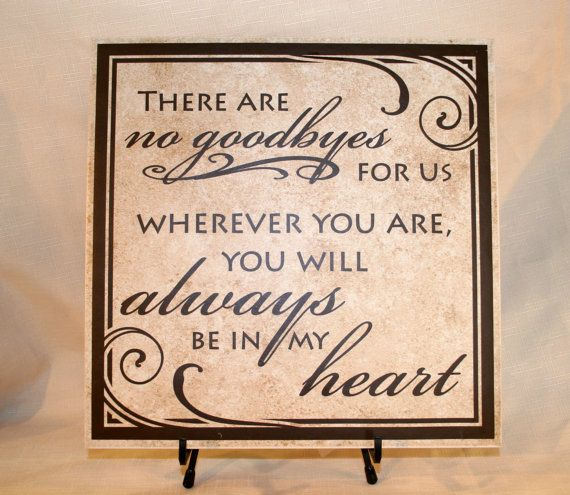 If tears could build a stairway Sign with Vinyl Lettering (Wood Board or Tile) memorial sign, remembrance sign, funeral gift, Memorial Day on Etsy, $30.00